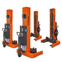 Мобильные подкатные колонны для грузового транспорта